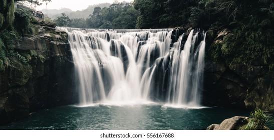 Waterfall in Sifen, Taiwan