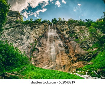 Waterfall Skakavac in Bosnia and Herzegovina