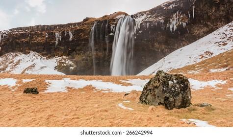 Skógarfoss Waterfall in South Iceland