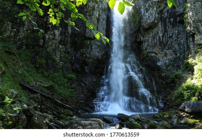 "Waterfall ""Star of Primorye"", Primorsky krai, Russia"