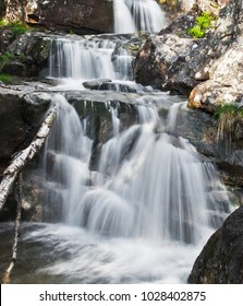 Waterfall of the stream of Artigue - Ariege (France)