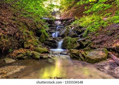 The waterfall of Stuttgart, Germany
