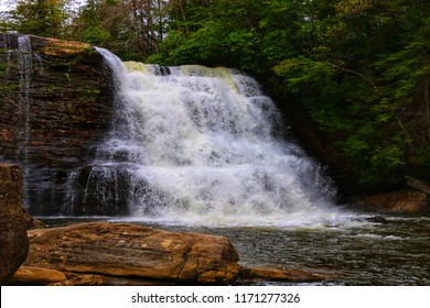 Wadsworth Big Falls Middlefield Connecticut On Stock Photo