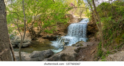 Waterfall at Tanyard Creek Nature Trail, Bella Vista, Arkansas