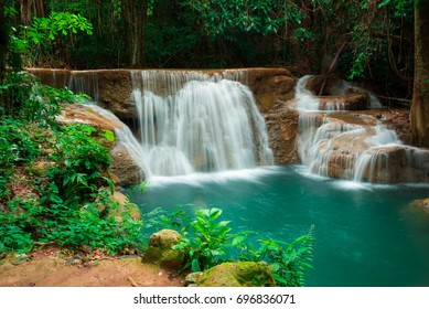 Waterfall in Thailand is beautiful