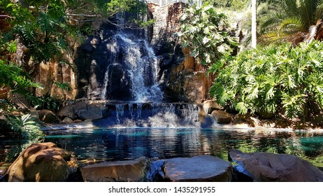 Waterfall at the top of the range Toowoomba