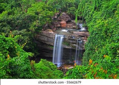 Waterfall, Ubon Ratchathani, Thailand.