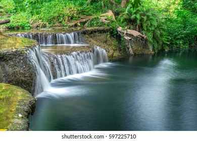waterfall are a water line in the daytime.