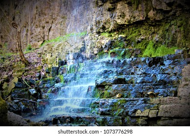 A waterfall in Yellow Springs, Ohio