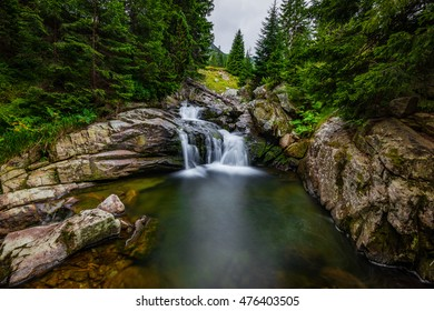 Waterfalls in central Romania