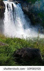Waterfalls in Fall City, Washington state