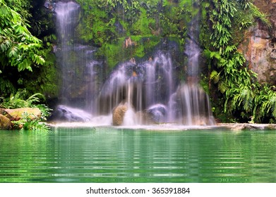 Waterfalls in the forest