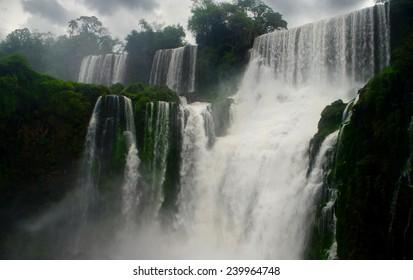 waterfalls of Iguazu, Argentina/Brazil