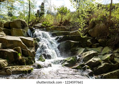 Waterfalls in the Ilsetal, harz mountains