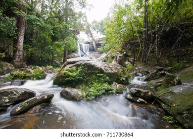 Waterfalls in jungle.Thailand