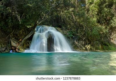 Waterfalls of Llano Grande,Huatulco ,Oaxaca México