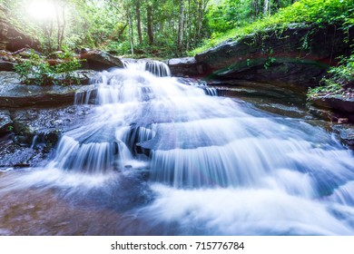 Waterfalls, natural forests