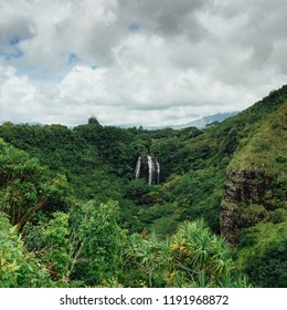 Waterfalls on Kauai, Hawaii