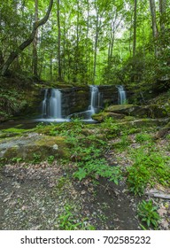 Waterfalls on Rhododendron Creek in Greenbrier, Great Smoky Mountains National Park ,TN