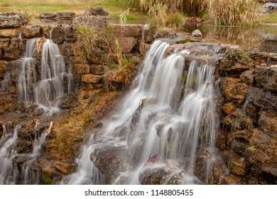 Waterfalls in an Ozark Park
