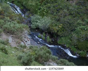 Waterfalls Rio Faro, Castilla y Léon, León