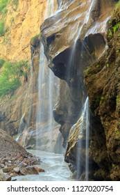 Waterfalls. Russian Federation, North Caucasus, Karachaevo-Cherkessia, Chegem.