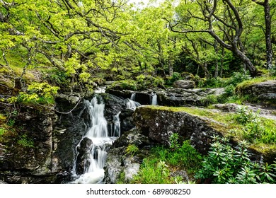 The waterfalls in scotland