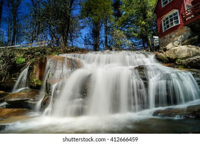 The Waterfalls of Shoal Mill  Living Waters, Balsam Grove, North Carolina