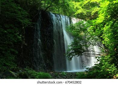 Waterfalls of summer clothing