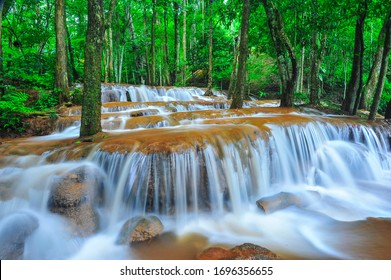 Waterfalls in Tak Province in north Thailand