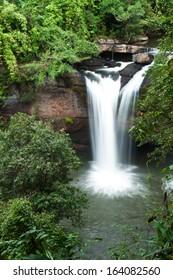 waterfalls in  Thailand,Haew suwat waterfalls