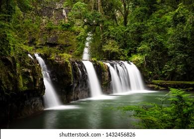 Waterfalls Tropical North Queensland, Australia.