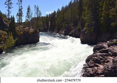 Waterfalls, Yellowstone National Park