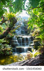 Waterfall,Waterfall in the forest,Beautiful deep forest waterfall in Thailand.