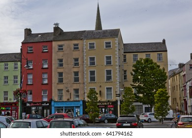 WATERFORD,IRELAND-24TH AUG 2015:-Waterford is well known for crystal glassware and as a tourist town