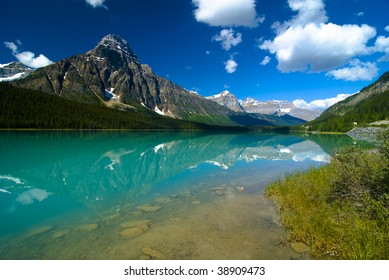 Waterfowl Lake, Banff, Rocky Mountain, Canada