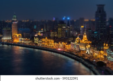 It is a waterfront area in central Shanghai, one of the most famous tourist destinations in Shanghai, China.