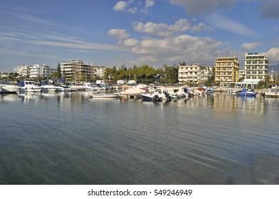 Waterfront in Glyfada, Greece