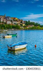 Waterfront of Kastoria, Greece