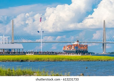 The Waterfront Park in Charleston, South Carolina, USA