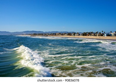 Waterfront of Venice Beach
