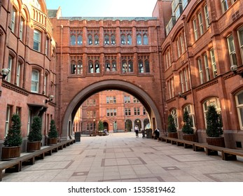Waterhouse Square London beautiful bridge