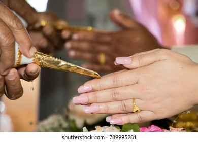 Watering the bride and groom at weddings is a method of Thailand.