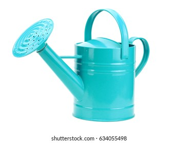 Watering can on a white background