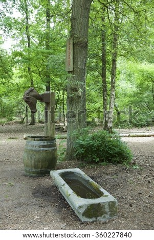 watering place for horses