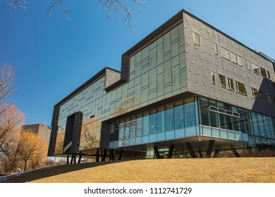 Waterloo, Ontario / Canada - March 25, 2018: Stephen Hawking was a Distinguished Visiting Research Chair at Perimeter Institute from 2009 - 2018.