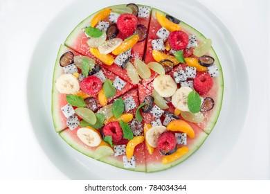 Watermelon fruit platter