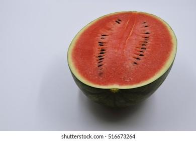 watermelon juice of fruit thai on white background
