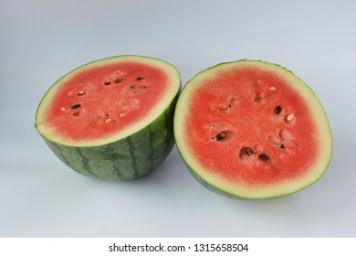 Watermelon red, put on a white background