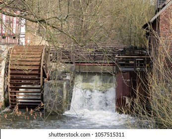 Watermill by the river